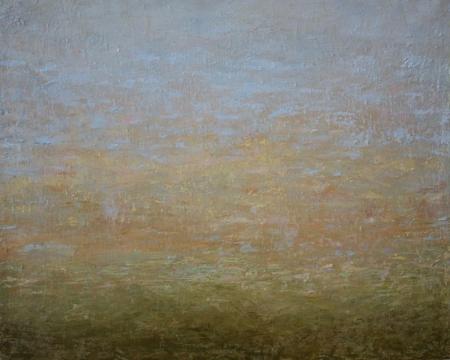Táj – 39 x 45 cm olaj, vászon
