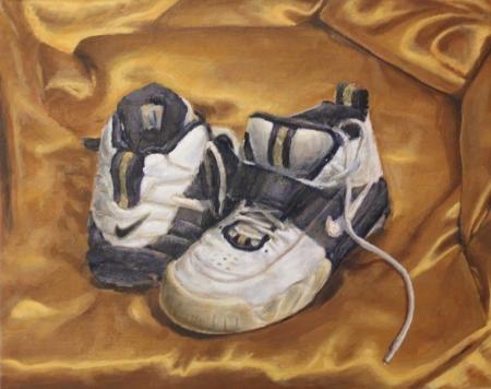 Cipők – 40 x 50 cm olaj, vászon