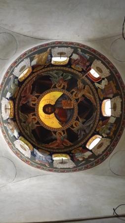 A kápolna belső tere